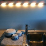 Fertige LED-Küchenleuchte