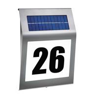 """Esotec """"Style"""" Hausnummernleuchte mit Solartechnik im Test"""