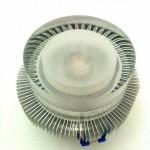 Fertige LED-Einbauleuchte mit Acrylglaslinse