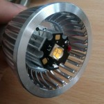 Eigenbau-Halogen-Retrofit-LED ohne Optik