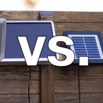 Vergleichstest Solarlampen mit Bewegungsmelder