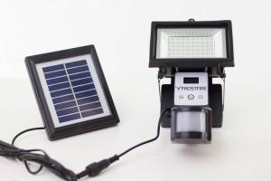 Solarmodul und LED-Modul der Frostfire-Leuchte